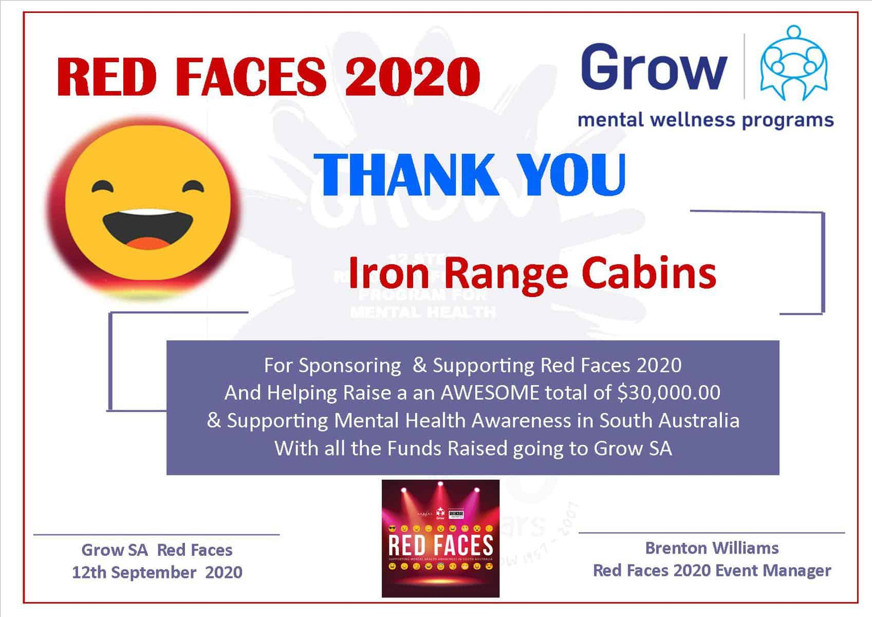 Red Faces 2020
